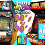 80's vs 90's...Best Arcade Game? Battle of the Decade